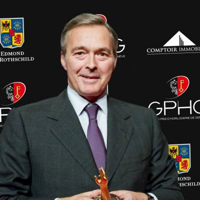 Karl-Friedrich Scheufele, co-président de Chopard, marque lauréate du Prix de la Montre Joaillerie et Métiers d'Arts 2012