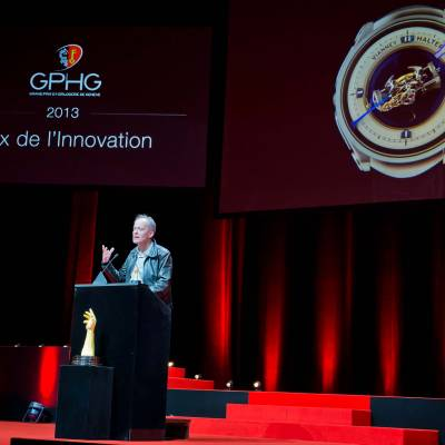 Speech of Vianney Halter, founder of Vianney Halter, winner of Innovation Prize 2013