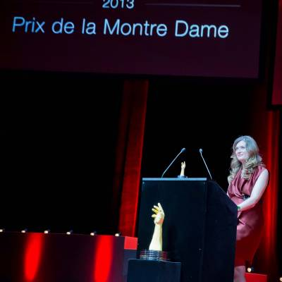 Speech of Brigitte Morina, CEO of DeLaneau, winner of the Ladies' Watch Prize 2013