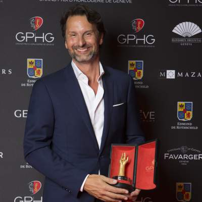 Maximilien Büsser (Owner & Creative Director of MB&F, winner of the Calendar Watch Prize 2016)
