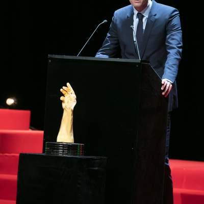 Patrick Pruniaux (CEO of Ulysse Nardin, winner of the Sports Watch Prize 2017)
