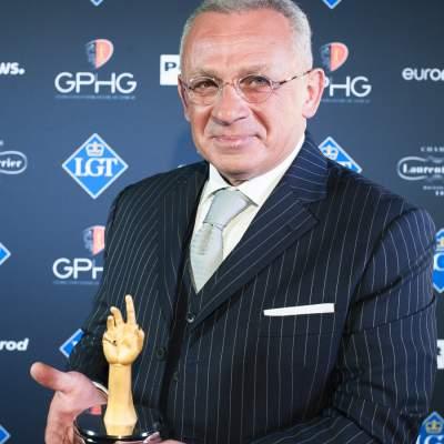 "Pascal Raffy, Owner of Bovet 1822, winner of the ""Aiguille d'Or"" Grand Prix 2018"