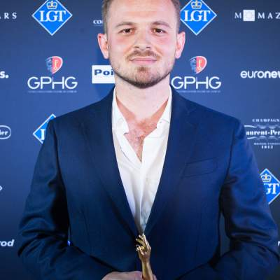 Rexhep Rexhepi, Watchmaker and Founder of Akrivia, winner of the Men's Watch Prize 2018