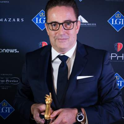 Pierre Jacques,President and CEO of De Bethune, winner of the Chronometry Watch Prize 2018