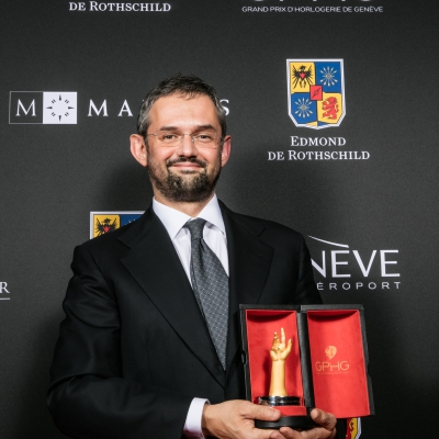 Stefano Macaluso (Product Development & Design Director of Girard-Perregaux, winner of the Striking Watch Prize 2015)