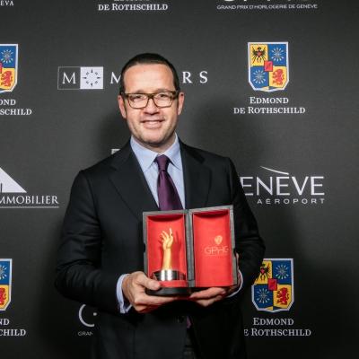 François Bennahmias (CEO of Audemars Piguet, winner of the Jewellery Watch Prize 2015)