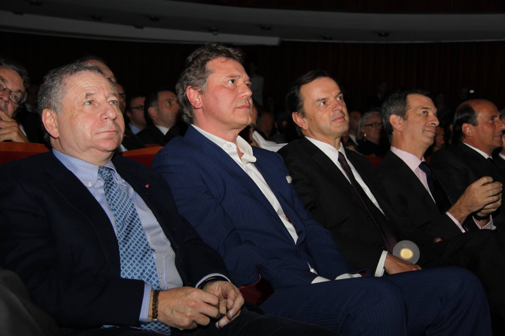 Jean Todt (President of FIA), François-Paul Journe (CEO of Montres Journe), Stanislas de Quercise (President and CEO, Van Cleef and Arpels), Philippe Léopold-Metzger (CEO, Piaget), Richard Mille (CEO of Richard Mille), 2010 ceremony