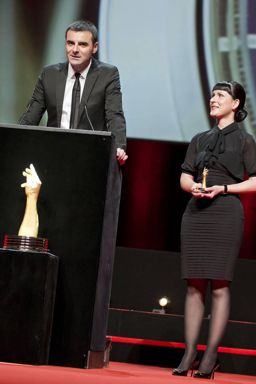 Maria Kristina et Richard Habring, co-fondateurs de Habring2, marque lauréate du Prix de la Montre Sport 2012