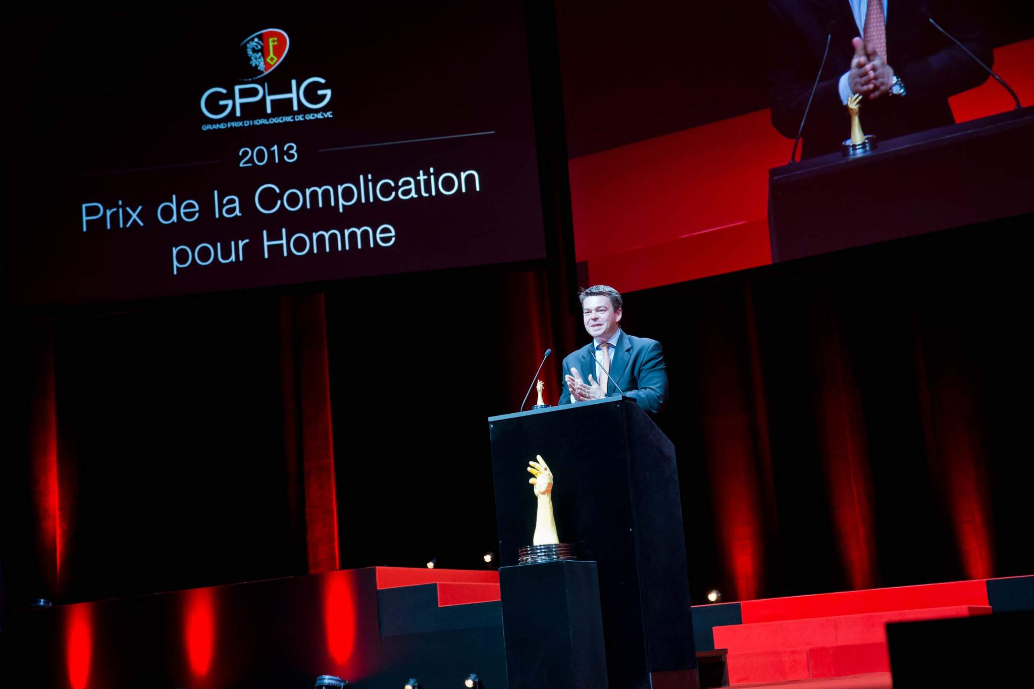 Speech of Romain Gauthier, founder of Romain Gauthier, winner of Men's Complications Watch Prize 2013