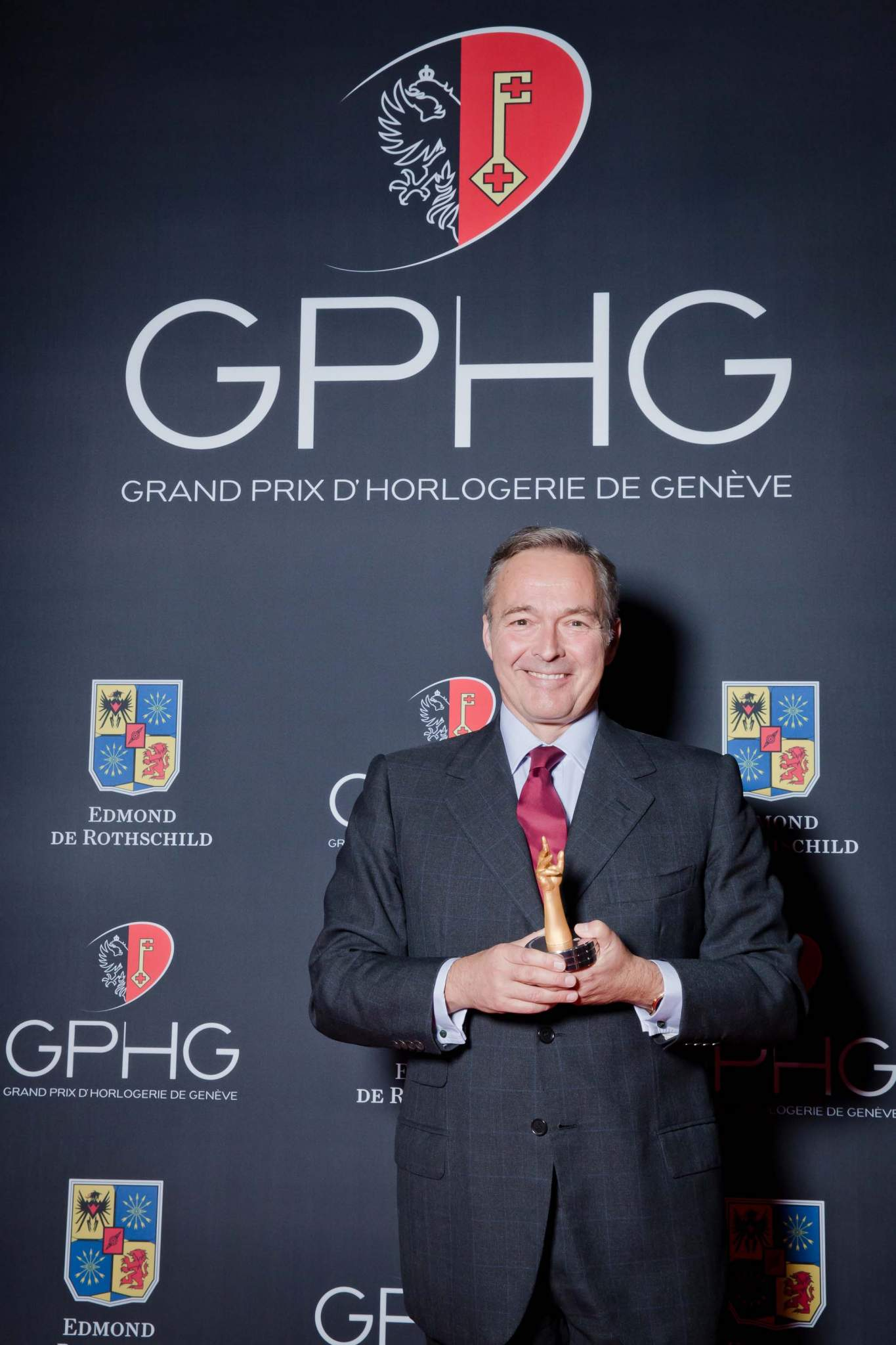 Karl-Friederich Scheufele, co-president of Chopard, winner of Jewellery Watch Prize 2013