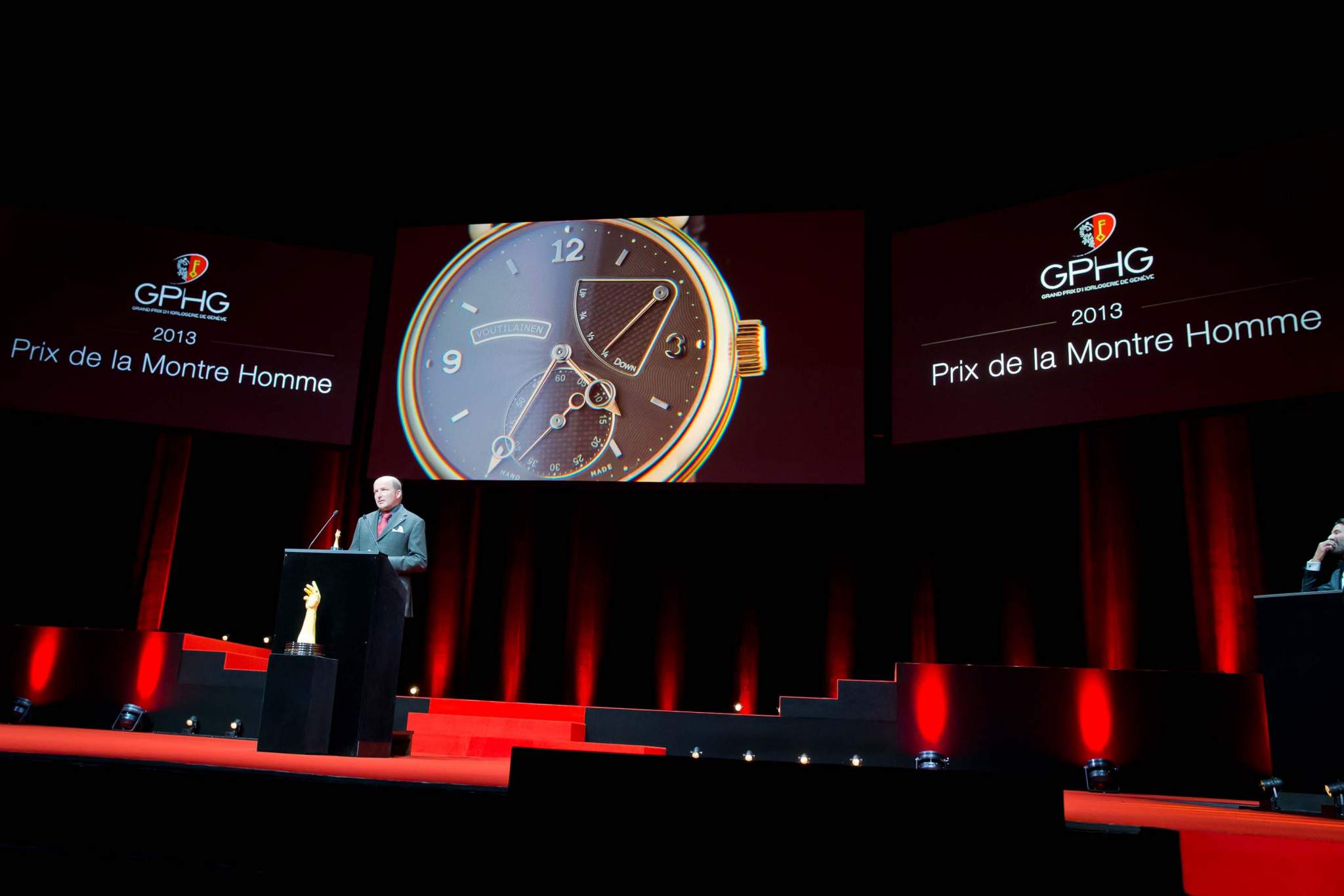 Speech of Kari Voutilainen, founder of Voutilainen, winner of the Men's Watch Prize 2013