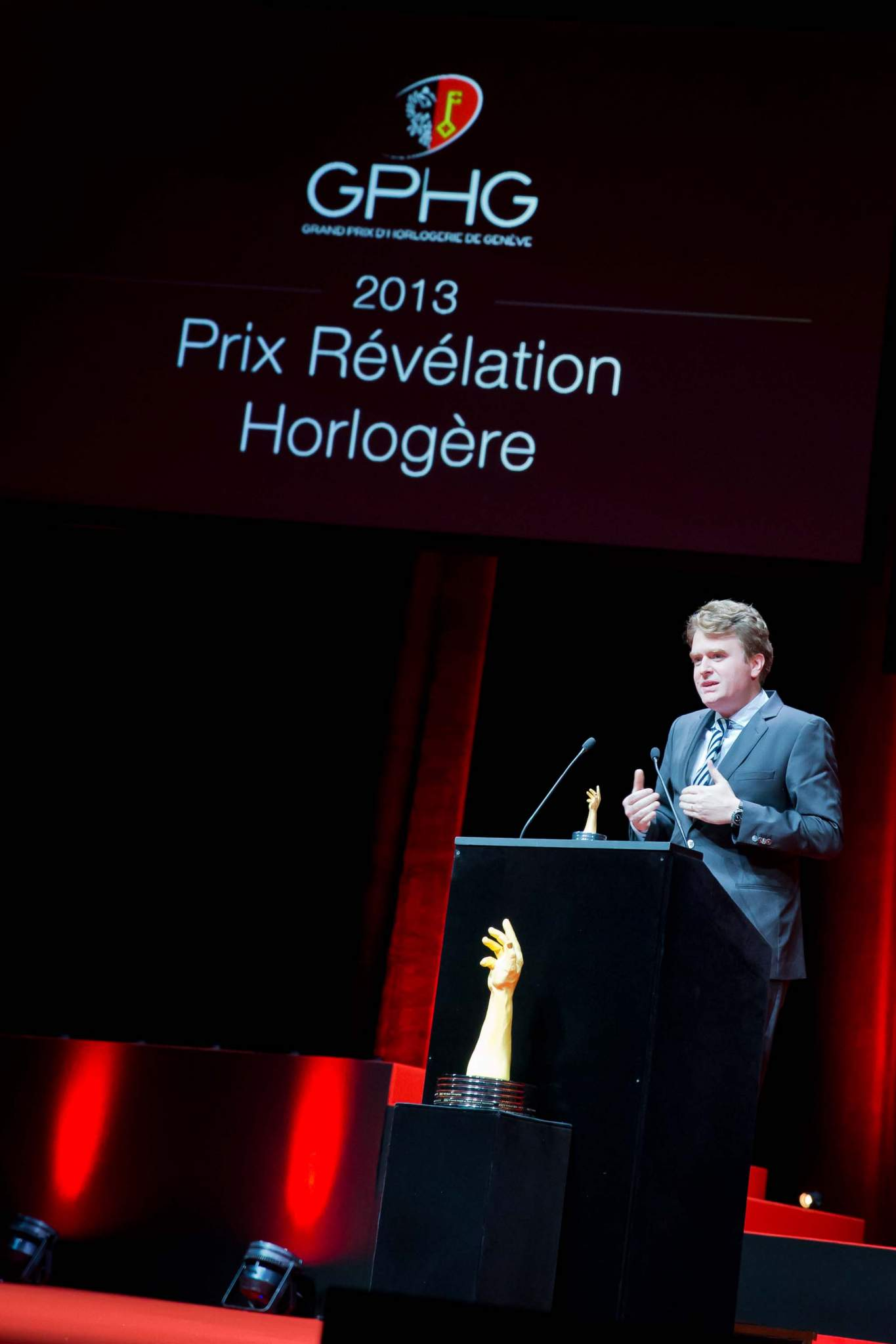 Speech of Benoît Mintiens, founder of Ressence, winner of the Horlogical Revelation Prize 2013