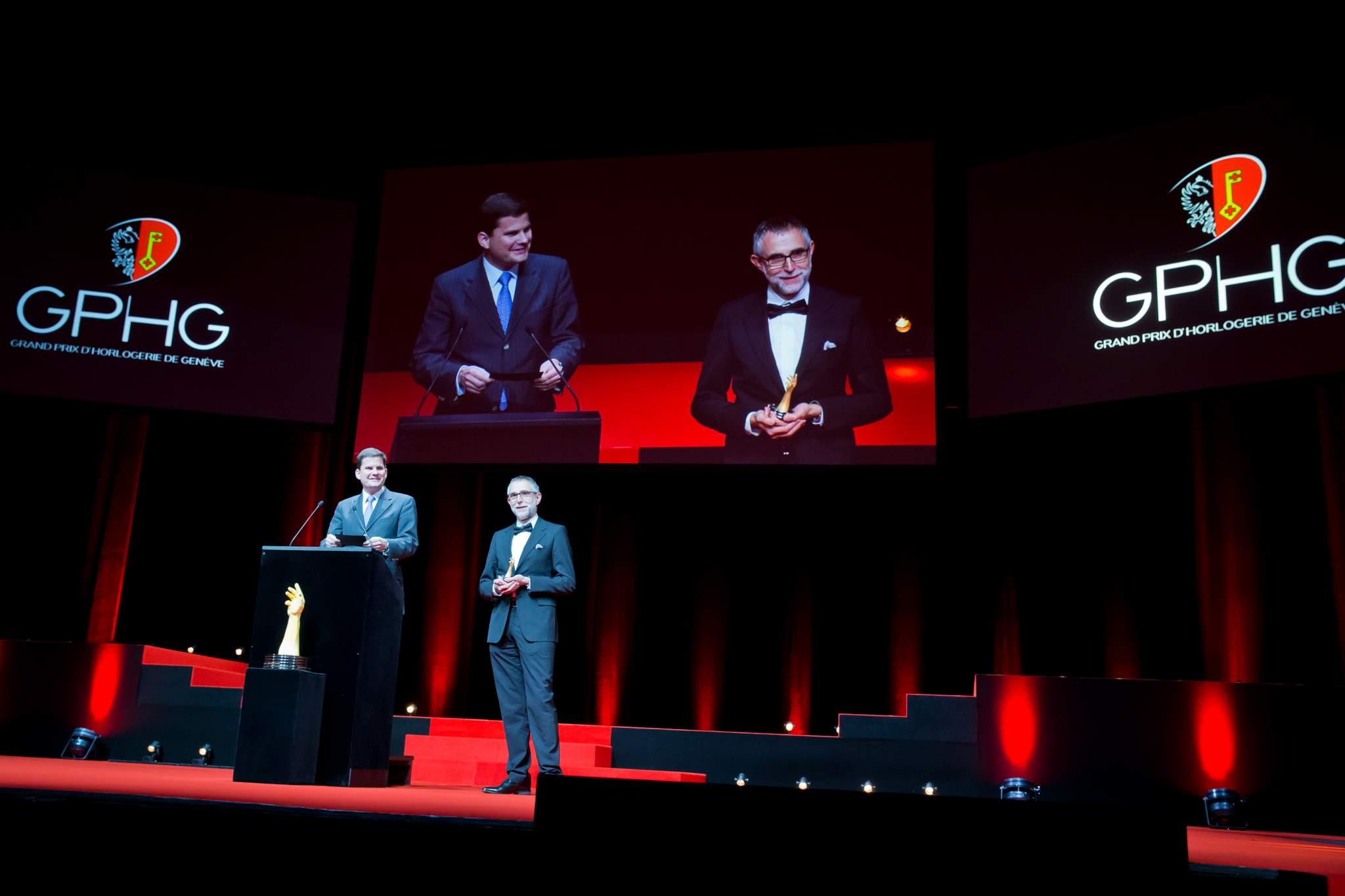 Patrick Wehrli and Alexey Tarkhanov, members of the Jury 2013