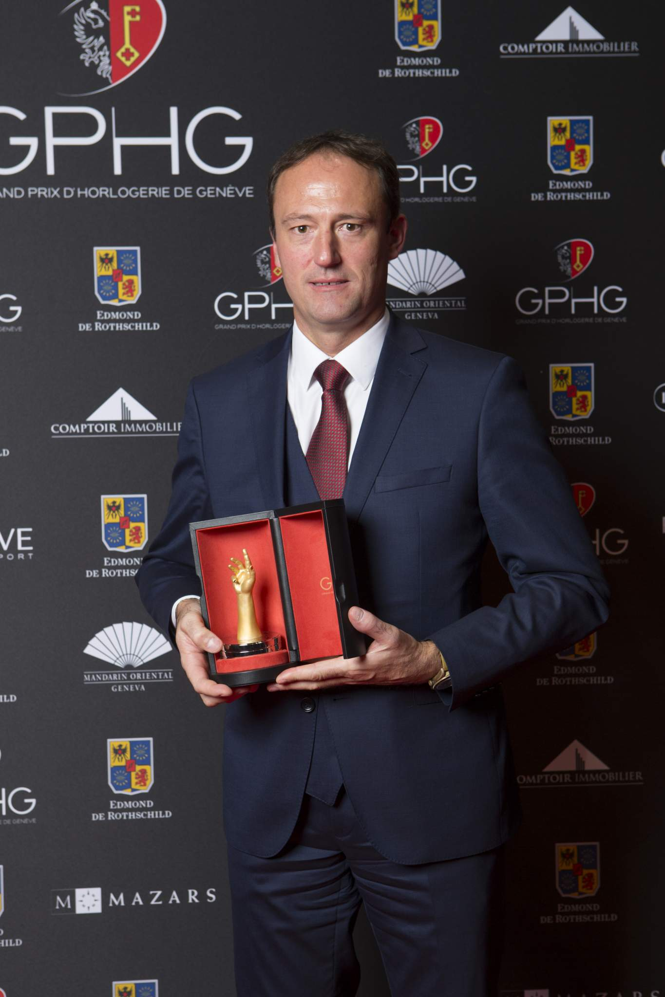 Eric Pirson (Director of Tudor, winner of the «Petite Aiguille» Watch Prize 2016)