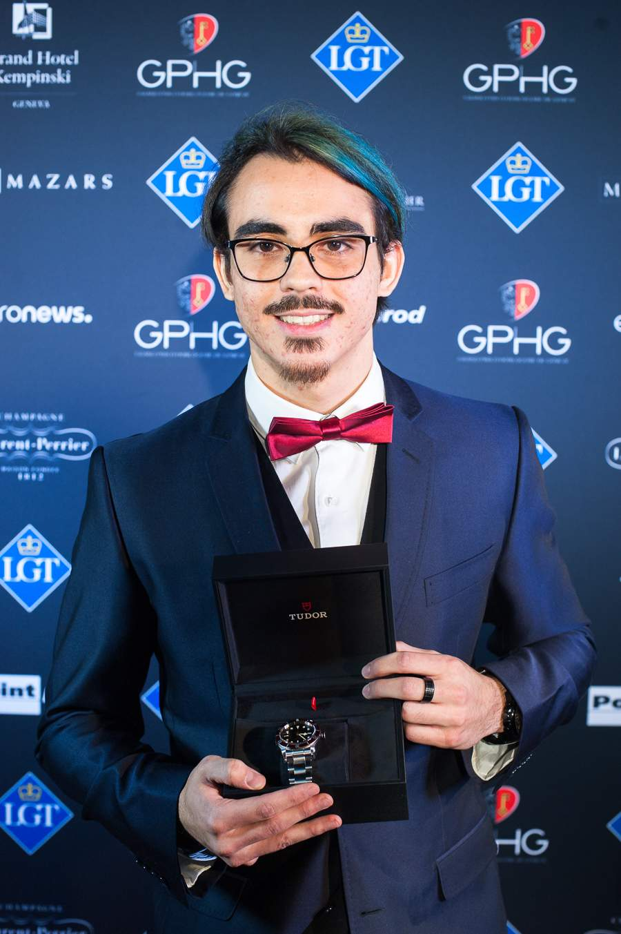 Christopher Lanz, Winner of the Young Student Prize 2018
