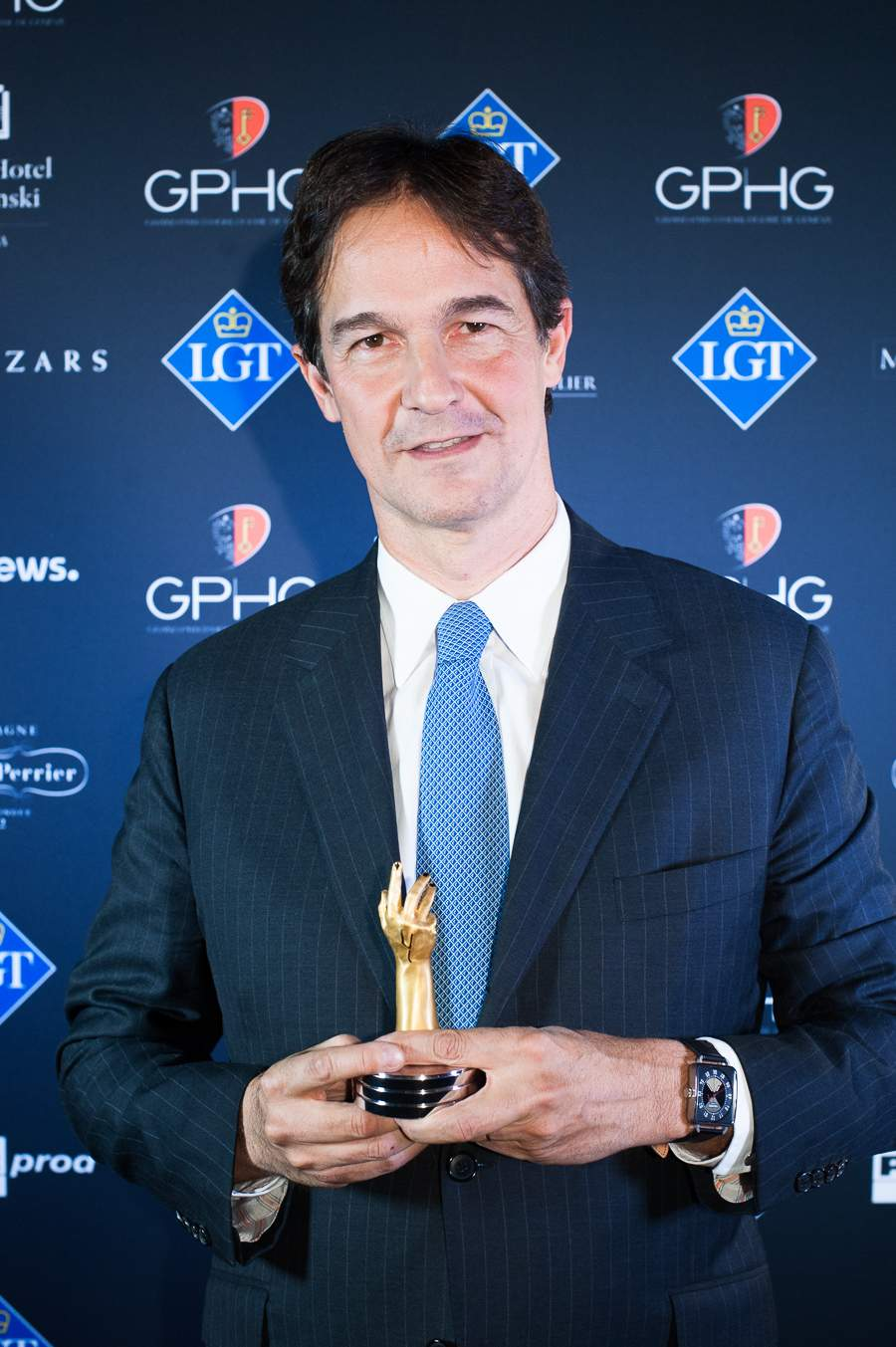 Laurent Dordet, La Montre Hermès CEO, winner of the Artistic Crafts Watch Prize 2018