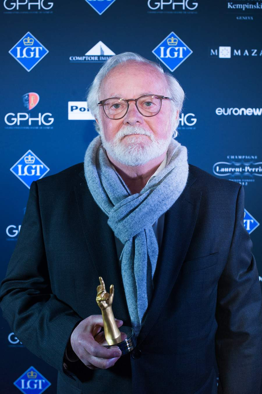 Laurent Ferrier, Founder, winner of the Men's Complication Watch Prize 2018