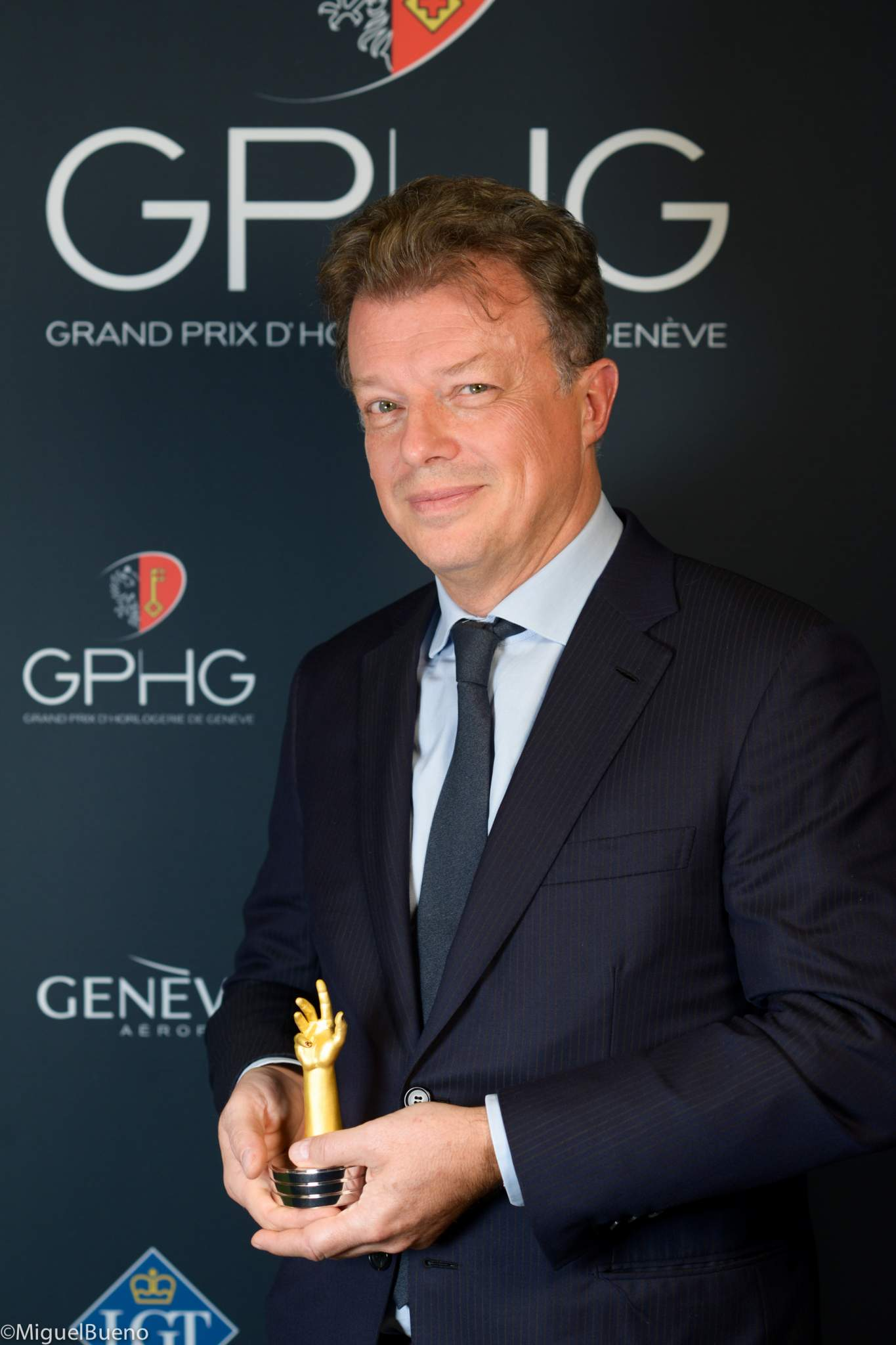 Global Head of Watches and Fine Jewelry Business Development at Chanel, winner of the Ladies' Watch Prize 2019