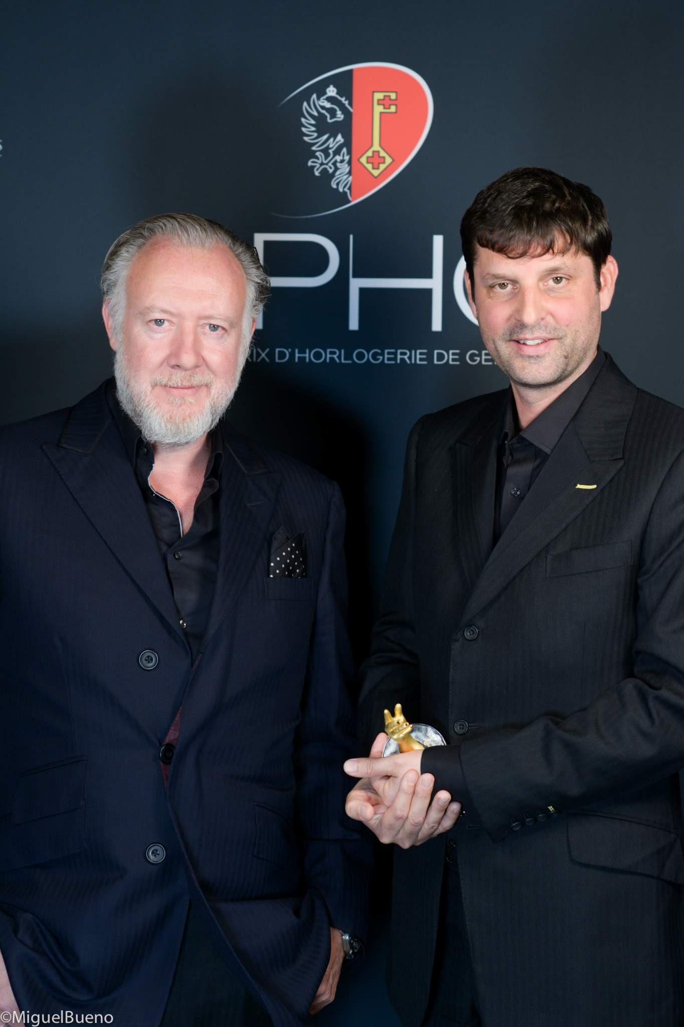 """Co-founders of Urwerk, winners of the """"Horological Revelation"""" Prize 2019"""
