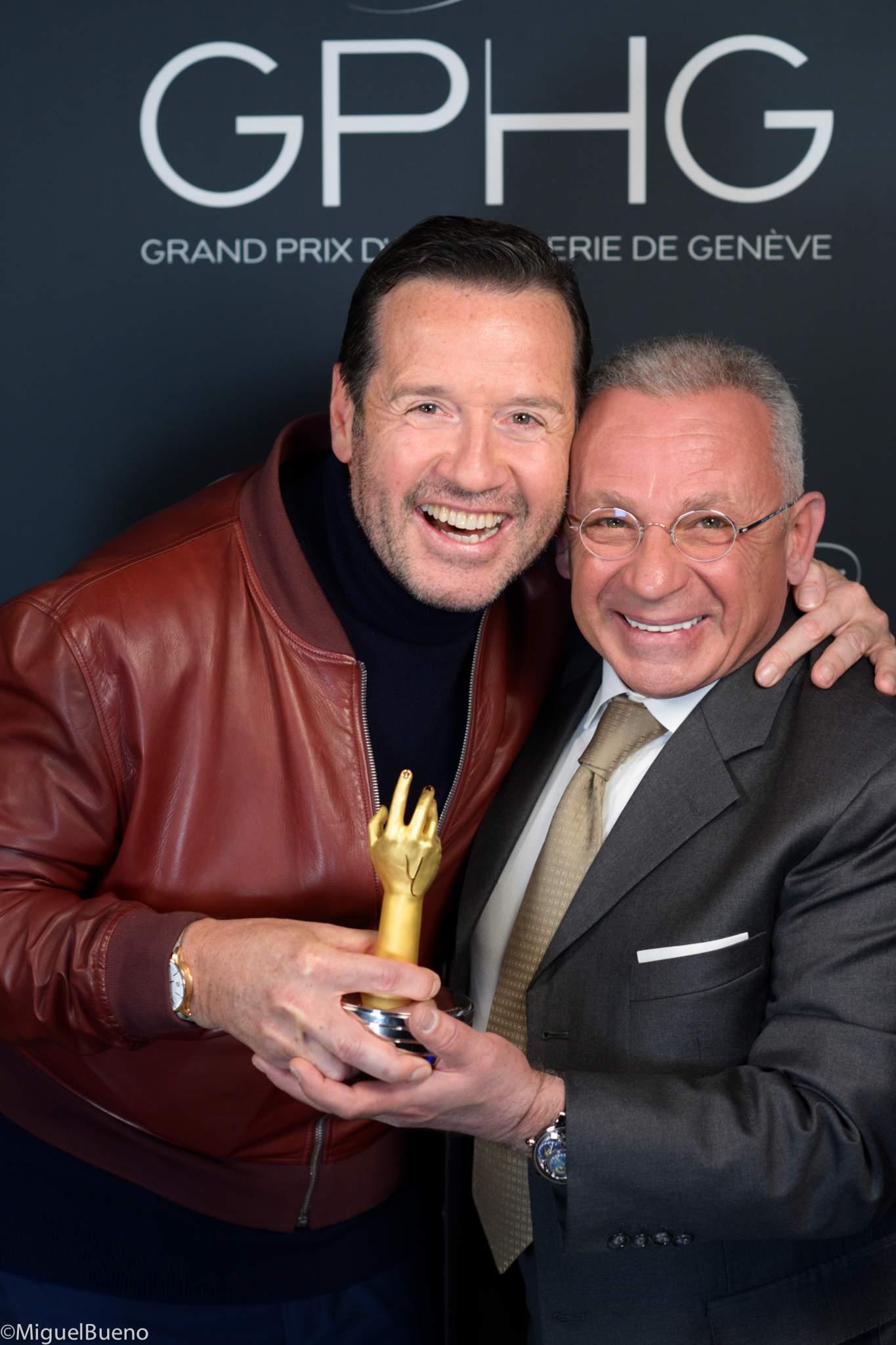 François-Henry Bennahmias et Pascal Raffy