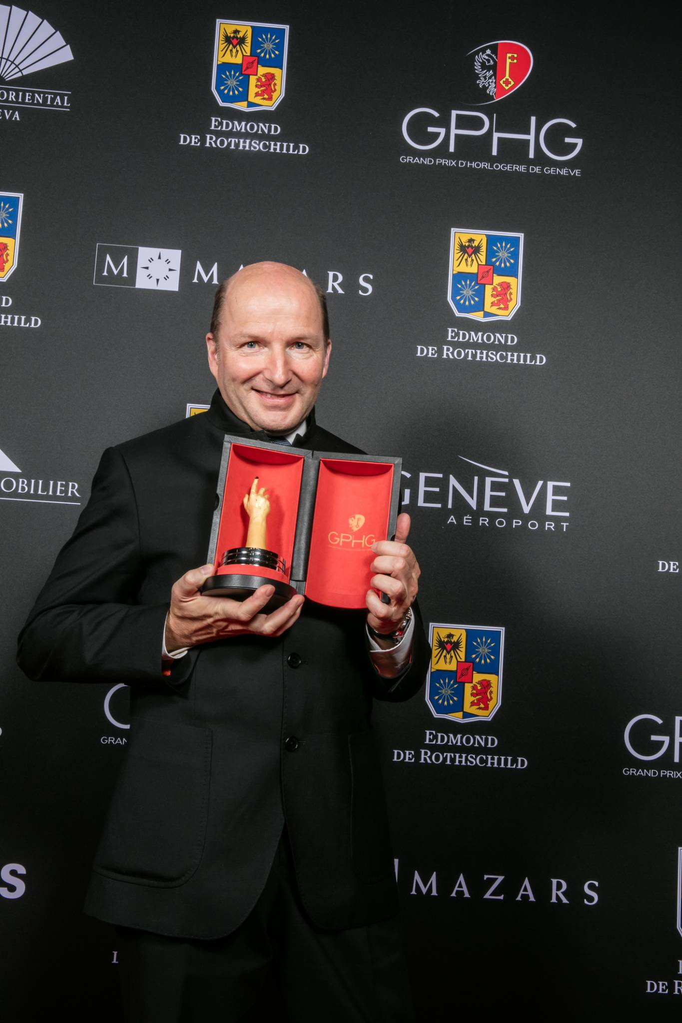Kari Voutilainen (Founder of Voutilainen, winner of the Men's Watch Prize 2015)
