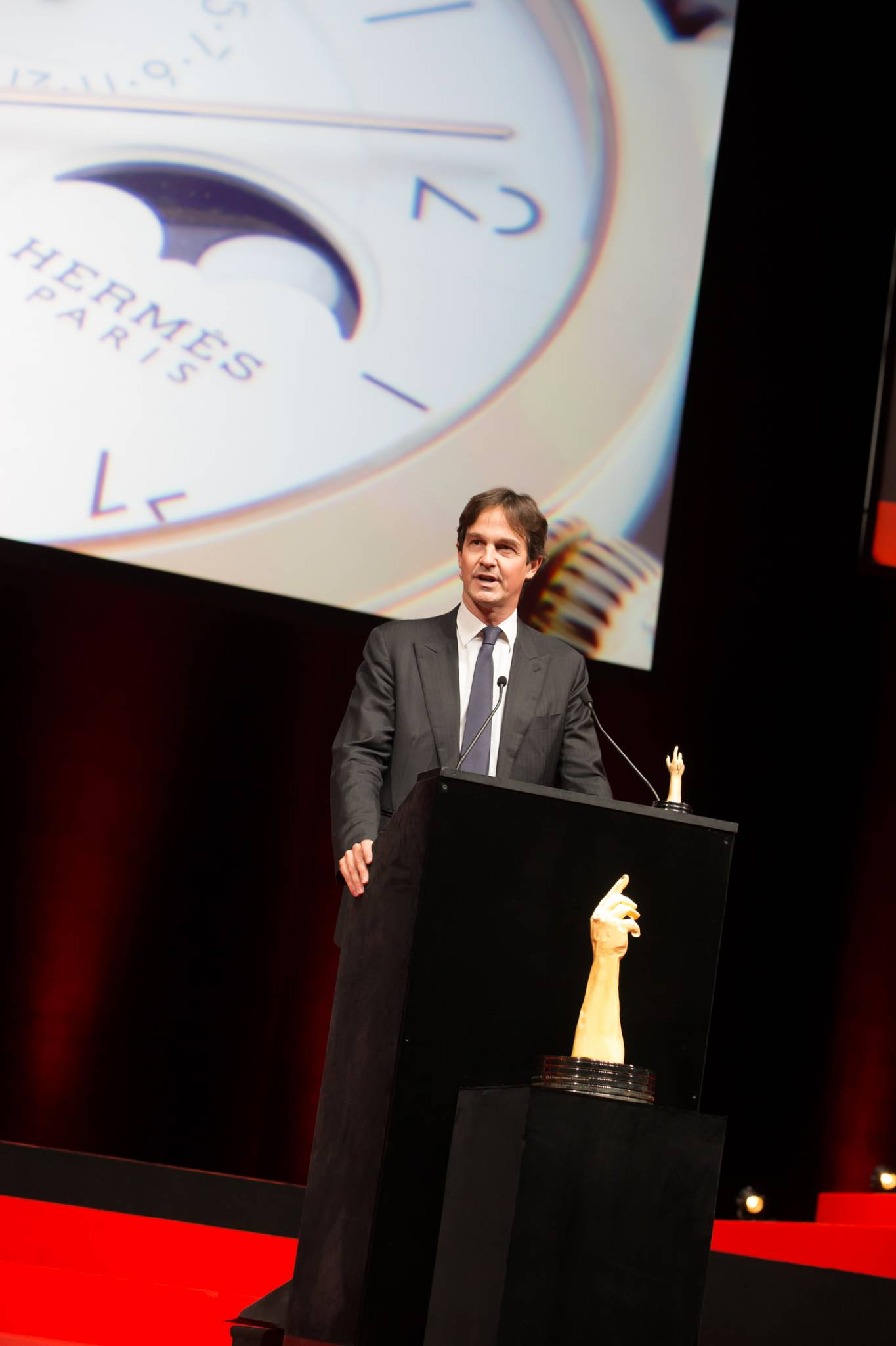 Laurent Dordet (CEO of La Montre Hermès, winner of the Calendar Watch Prize 2015)
