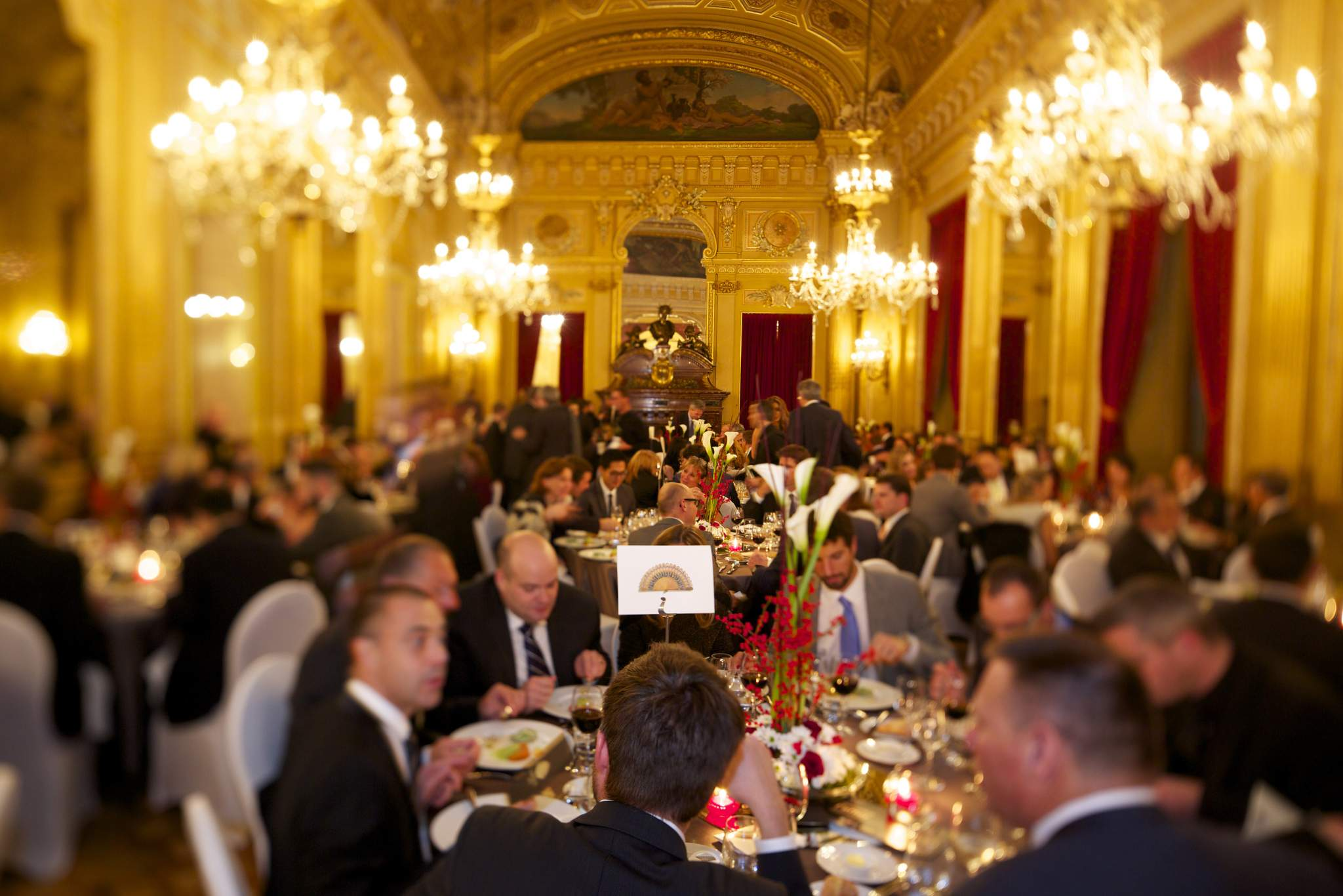 Gala dinner of the GPHG 2015 at the Grand Théâtre de Genève