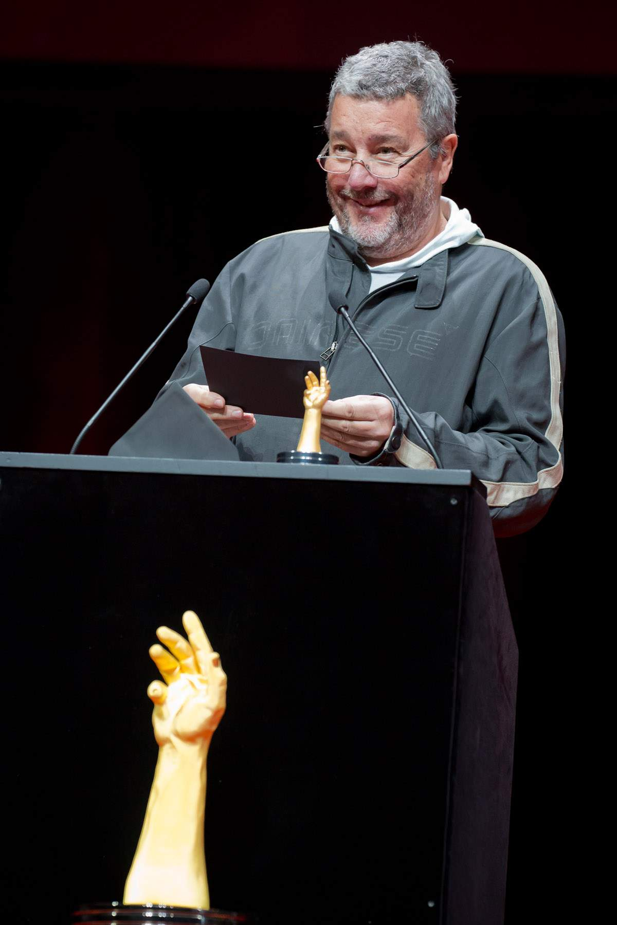 Philippe Starck (jury member of the GPHG 2013)