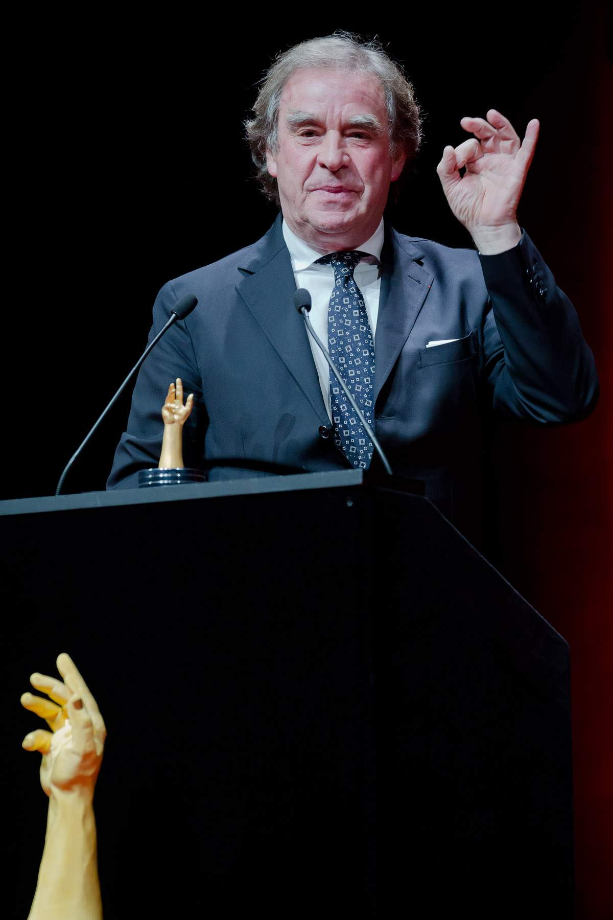 Jean-Michel Wilmotte (jury member of the GPHG 2013)