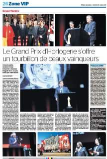 tdg - Le Grand Prix d'Horlogerie s'offre un tourbillon de beaux vainqueurs