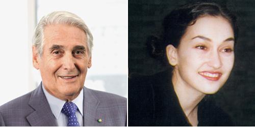 Carlo Lamprecht and Carine Maillard