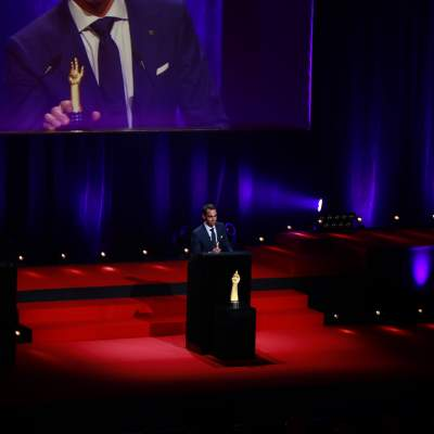 Edouard Meylan, CEO de H. Moser & Cie, lauréat du Prix de la Montre Chronographe 2020