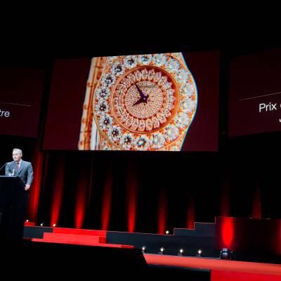 Speech of Karl-Friederich Scheufele, co-president of Chopard, winner of the Jewellery Watch Prize 2013