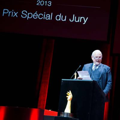 Speech of Philippe Dufour, winner of the Special Jury Prize
