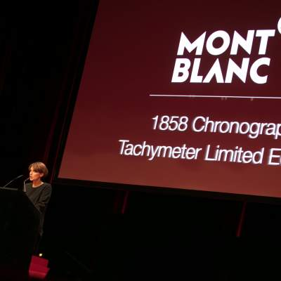 Delphine Favier (Managing Director of Montblanc Suisse, winner of the Chronograph Wazch Prize 2016)