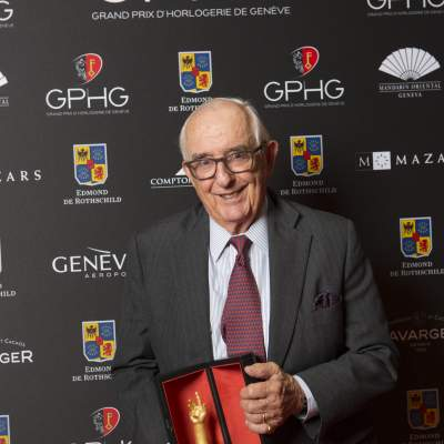 Jack Heuer (Honorary Chairman of TAG Heuer, winner of the Revival Watch Prize)
