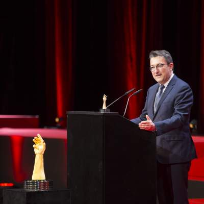Xavier de Roquemaurel (CEO of Czapek Genève, winner of  the Public Prize 2016)