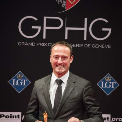 Eric Pirson (Director of Tudor, winner of the « Petite Aiguille » Prize 2017)