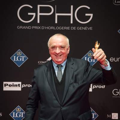 Walter von Känel (President General Director of Longines, winner of the Revival Watch Prize 2017)