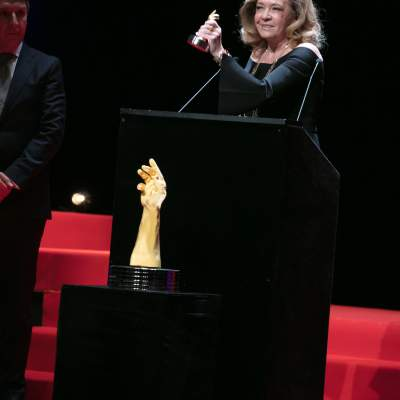Caroline Scheufele (Co-President of Chopard, winner of the « Aiguille d'Or » Grand Prix 2017 and the Jewellery Watch Prize 2017)