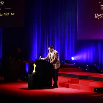 Patrick A. Ulm, CEO de Charles Girardier, lauréat du Prix de la Complication pour Dame 2020