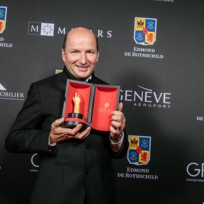 Kari Voutilainen (Founder of Voutilainen, winner of the Men's Watch Prize 2015)