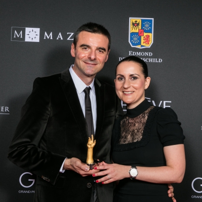 Maria Kristina and Richard Habring (Founders and CEOs of Habring2 , winner of the « Petite Aiguille » Prize 2015)