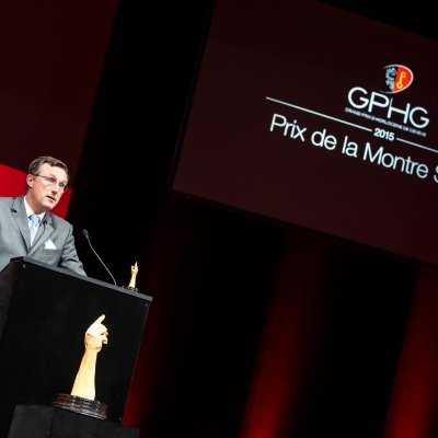 Philippe Peverelli (CEO of Tudor, winner of the Sport Watch Prize 2015)