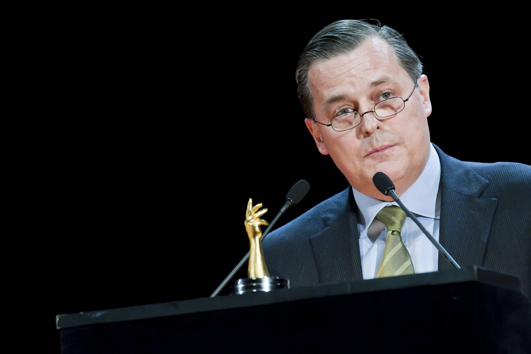 Pillippe Merk, CEO of Audemars Piguet, the winner brand of the 2011 Public Prize