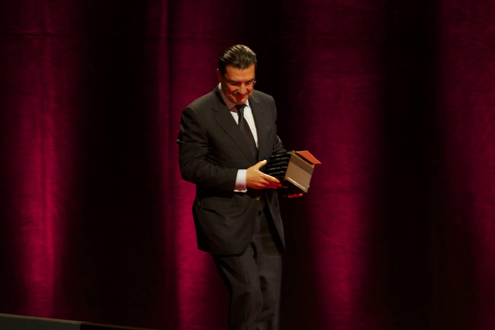 Juan Carlos Torres, CEO of Vacheron Constantin, 2010 ceremony