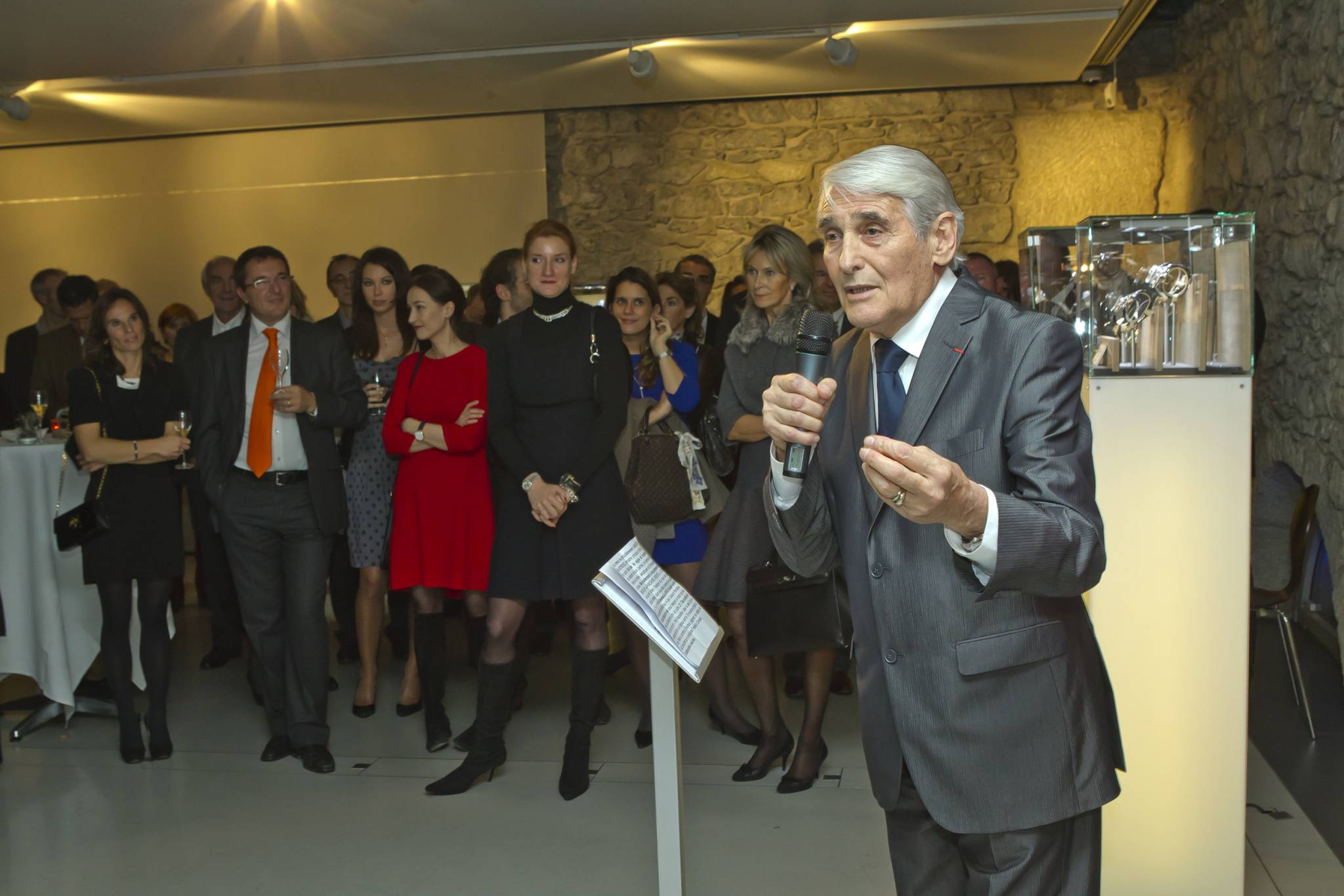 Speech from Carlo Lamprecht, President of the GPHG during the opening cocktail of the Geneva exhibition on the 8th of Nobember 2011