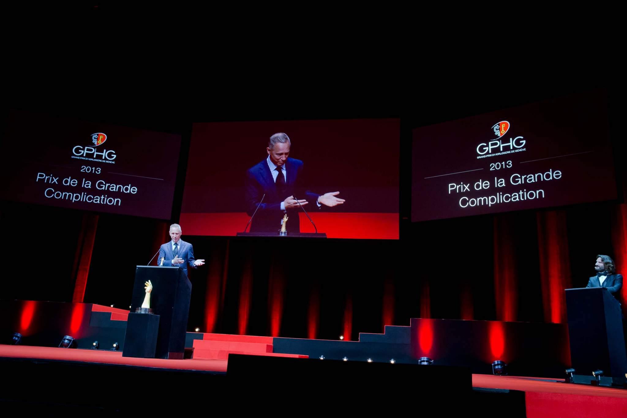 Speech of Wilhelm Schmid, CEO of A. Lange & Söhne, winner of Grande Complication Prize 2013