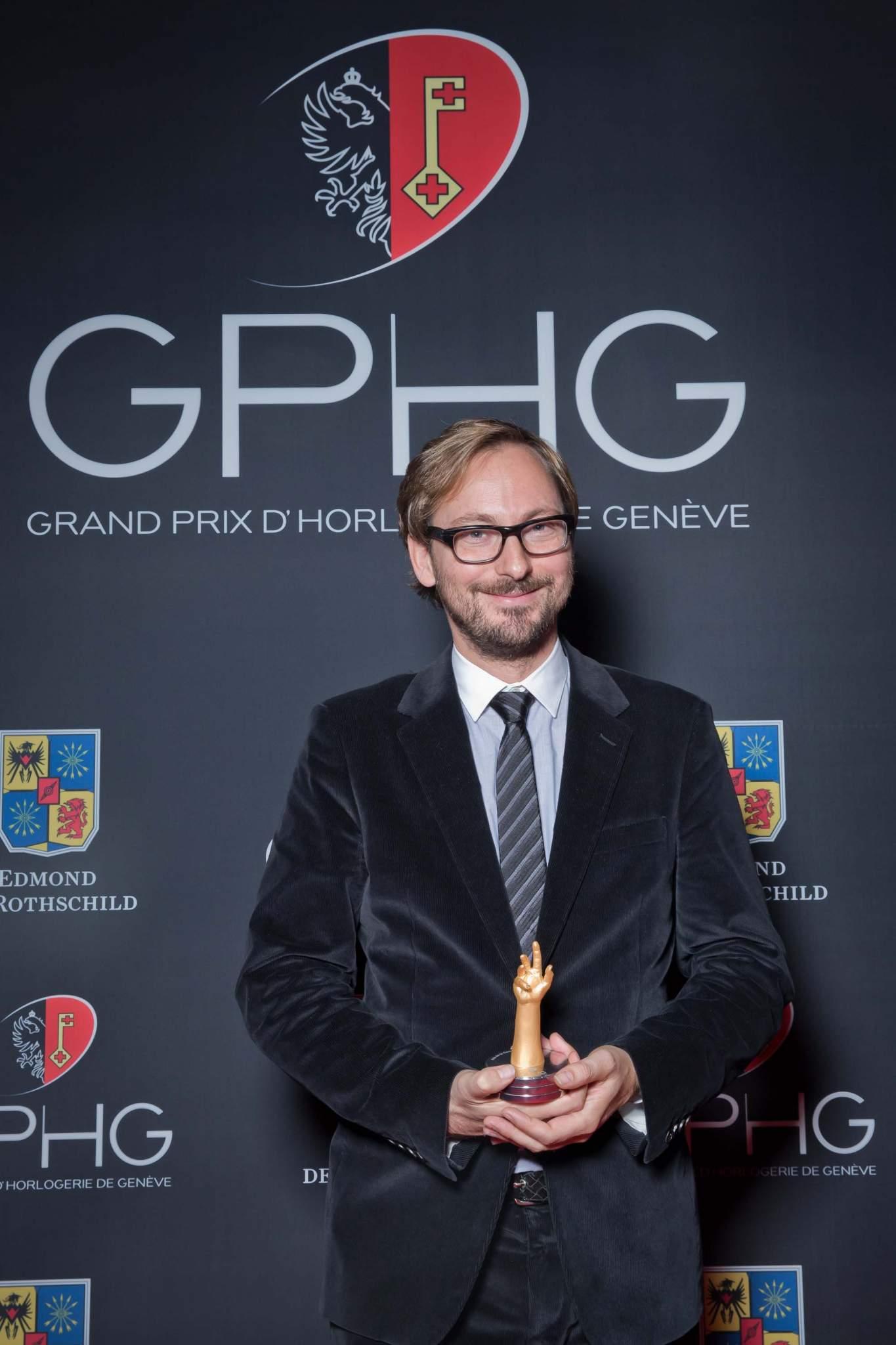 Nicolas Bos, CEO of Van Cleef & Arpels, winner of Ladies' Complications Watch Prize 2013