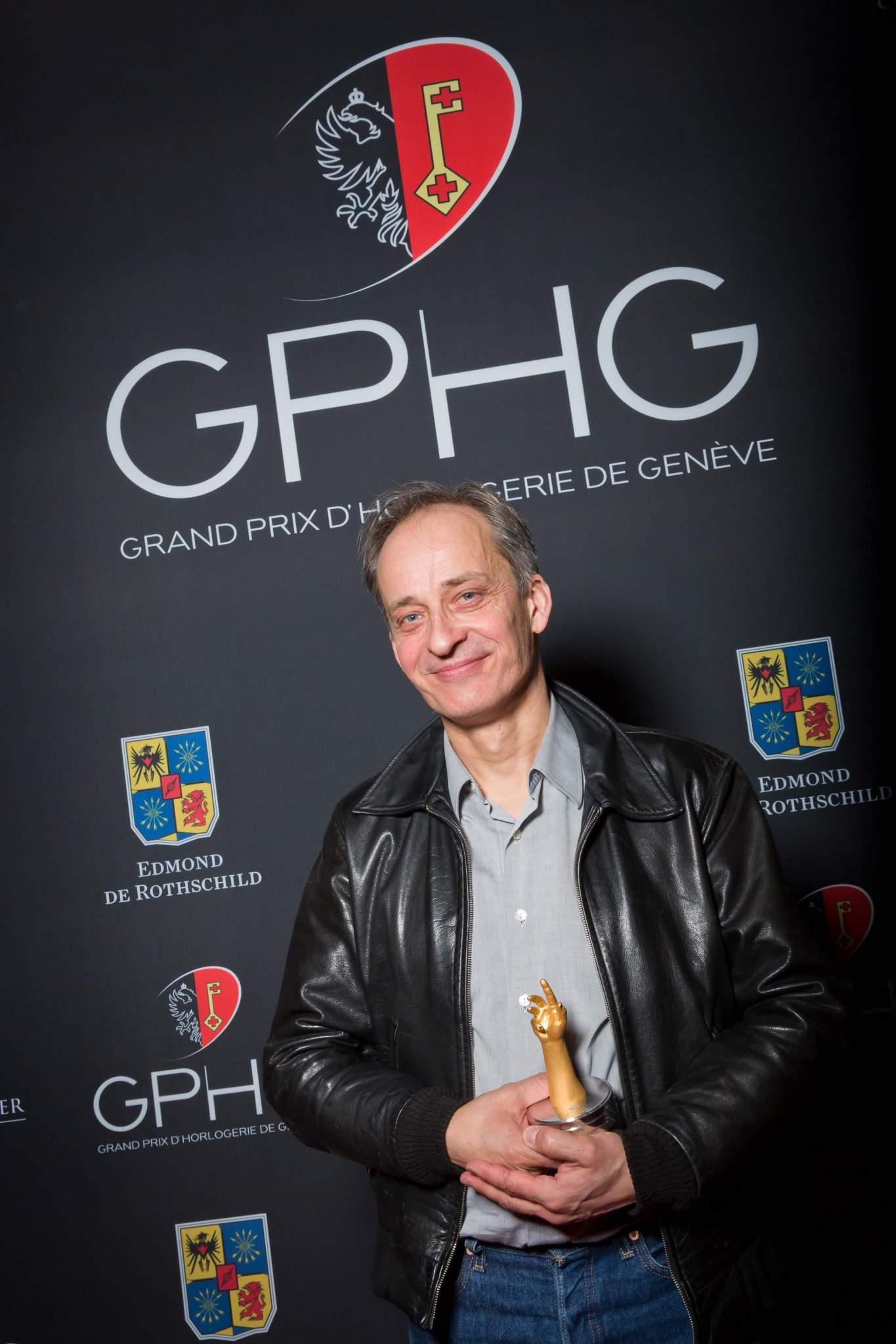Vianney Halter, founder of Vianney Halter, winner of Innovation Prize 2013